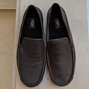 Men's Ugg Leather Slippers - Loafers